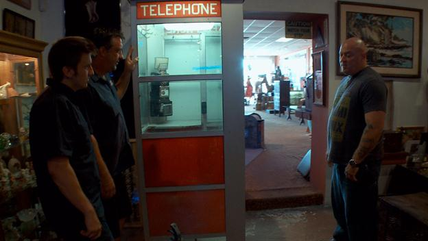 American Restoration: Ron Doesn't Want To Move A Phone Booth