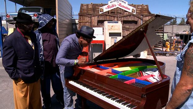 American Restoration: George Clinton Loves His Restored Piano