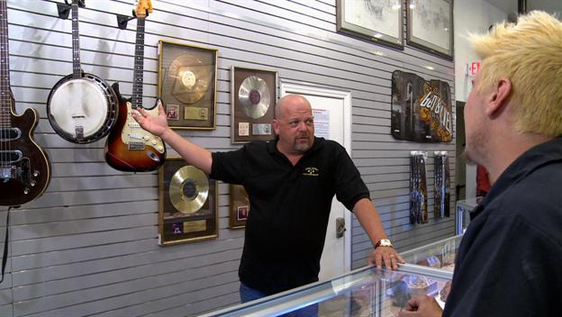 American Restoration: Tyler And Brettly Visit Pawn Stars' Rick