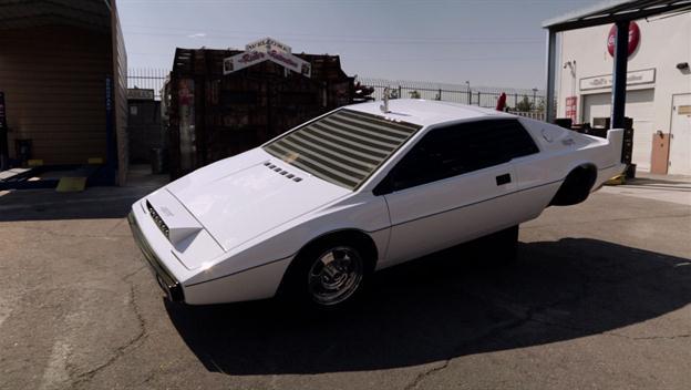 American Restoration: Rick Delivers A Restored James Bond Car