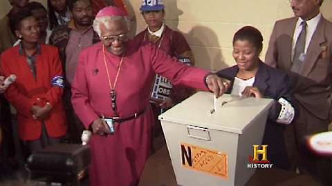 Miracle Rising: South Africa: Desmond Tutu: Voting