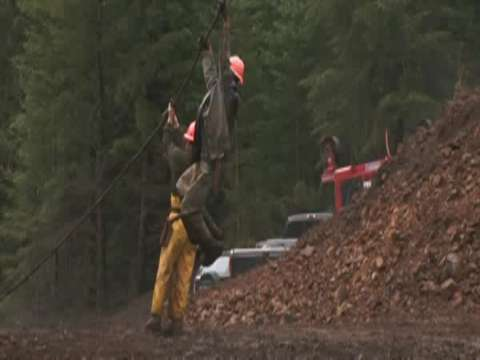 Ax Men Behind the Scene: Danger of Shooting