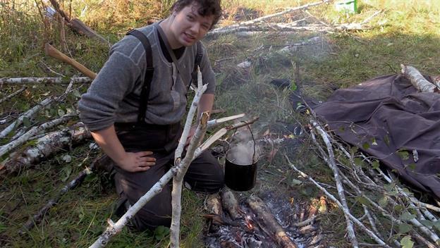 Sam Makes Spruce Tea