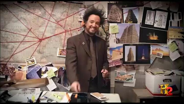 Ancient Aliens: Tuesdays 9pm on H2