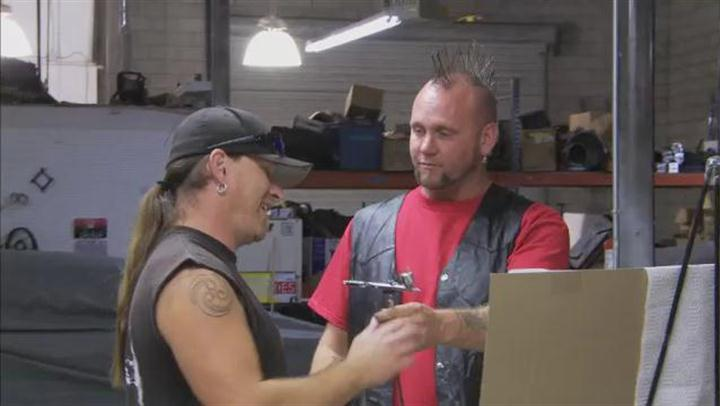 Counting Cars: Airbrush