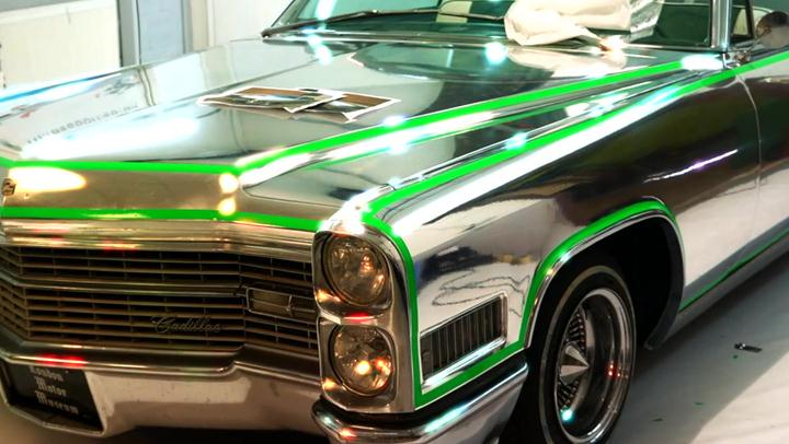 Ultimate Wheels: Time Lapse Video Chroming a Cadillac