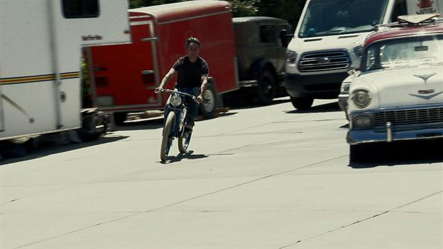 Mike Goes For A Bike Ride