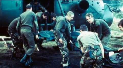 Falklands Combat Medics: Rick Jolly: Ajax Bay